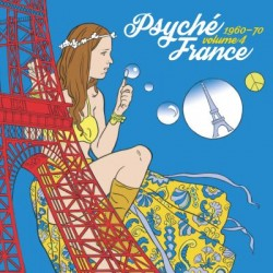 Psyché France 1960-70 Volume 4 - LP Vinyl Album - Psychedelic Rock - Record Store Day