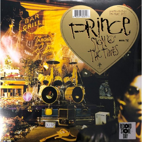 """Prince – Sign """"O"""" The Times - Double LP Vinyl Album Picture Disc - Record Store Day - Funk"""