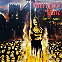 Mercyful Fate ‎– Burn The Witch Live '81 - LP Vinyl Album - Coloured Yellow - Heavy Metal