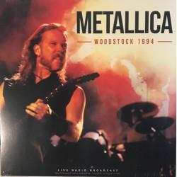 Metallica – Woodstock 1994 - LP Vinyl Album - Heavy Metal