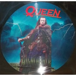 Queen – Highlander - LP Vinyl Album - Picture Disc - Symphonic Rock