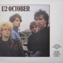 U2 – October - Original France