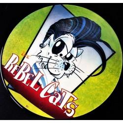 Rebel Cats – Rebel Cats - LP Vinyl Album Picture Disc - Rockabilly