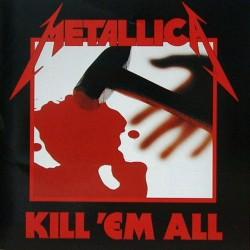 Metallica – Kill 'Em All - LP Vinyl Album - Thrash Metal