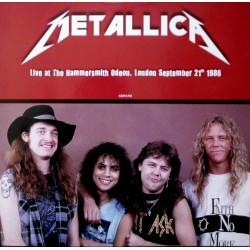 Metallica – Live At Hammersmith Odeon 1986 - LP Vinyl Album - Heavy Metal Thrash