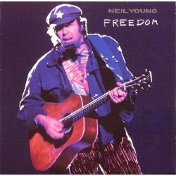 Neil Young ‎– Freedom - LP Vinyl Album - Classic Rock Folk