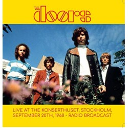 The Doors ‎– Live At The Stockholm Konserthuset, Stockholm, September 20th, 1968 - Radio Broadcast - Double LP Vinyl Album