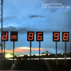 Depeche Mode ‎– The Singles 86-98 - Compilation Gatefold - Double Lp Vinyl - New Wave Synth Pop