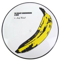 The Velvet Underground & Nico by Andy Warhol - LP Vinyl Album Picture Disc - Psychedelic Rock