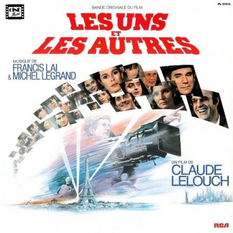 Musique de Film - Francis Lai & Michel Legrand – Les Uns Et Les Autres - Double LP Vinyl