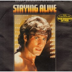 Musique de Film - Various - Staying Alive - LP Vinyl um Gatefold - The Bee Gees