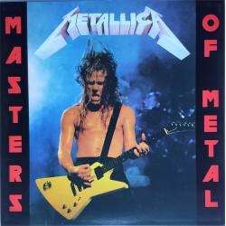 Metallica – Masters Of Metal - LP Vinyl Album - Coloured Blue - Heavy Metal