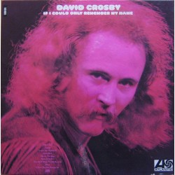 David Crosby ‎– If I Could Only Remember My Name - LP Vinyl Album Gatefold - Folk Rock