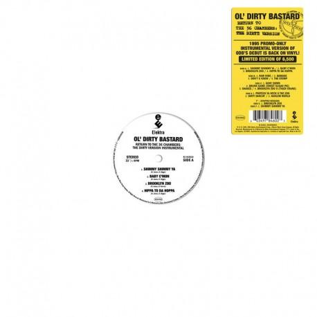 Ol' Dirty Bastard - Return to the 36 Chambers -The Dirty Version - Black Friday - Double LP Vinyl - Hip Hop