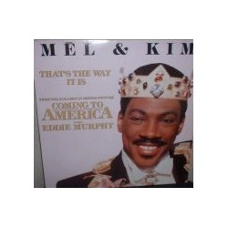 Musique de Film - Coming To America -  Mel & Kim ‎– That's The Way It Is - Maxi Vinyl