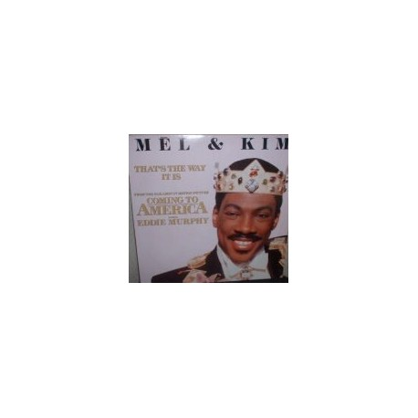 Musique de Film - Coming To America -  Mel & Kim – That's The Way It Is - Maxi Vinyl