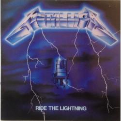 Metallica – Ride The Lightning - LP Vinyl Album - Thrash Heavy Metal