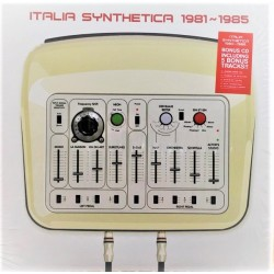 Italia Synthetica 1981~1985 - Compilation - LP Vinyl Vinyl - New Wave Synth Pop