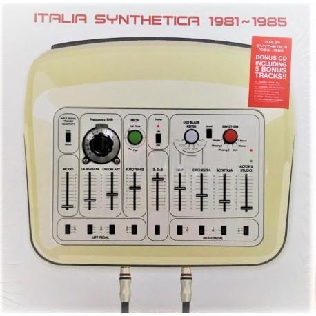 Italia Synthetica 1981~1985 - Compilation - LP Vinyl Vinyl - New Wave Synth Pop