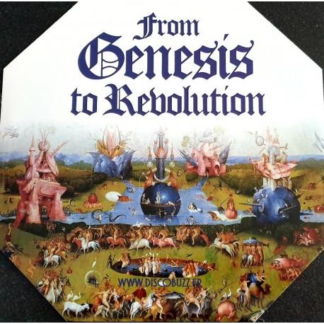 Genesis – From Genesis To Revolution - LP Vinyl Album Shaped - Progressive Rock