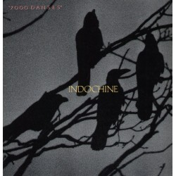 Indochine ‎– 7000 Danses - LP Vinyl Album Gatefold - Rock Français