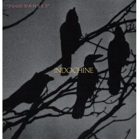 Indochine – 7000 Danses - LP Vinyl Album Gatefold - Rock Français