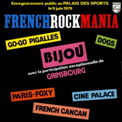 French Rock Mania - LP Vinyl Album - Compilation Live - French Rock