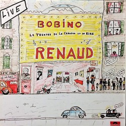 Renaud – Renaud À Bobino - Double LP Vinyl Album - French Songs