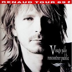 Renaud – Visage Pâle Rencontrer Public - Double LP Vinyl Album - Chanson Française
