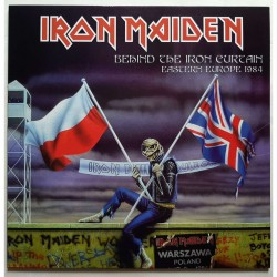 Iron Maiden – Behind The Iron Curtain Eastern Europe 1984 - LP Vinyl Album Coloured - Heavy Metal
