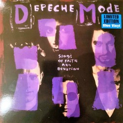 Depeche Mode ‎– Songs Of Faith And Devotion - LP Vinyl Album Blue - New Wave Synth Pop