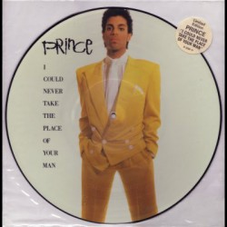 Prince ‎– I Could Never Take The Place Of Your Man - Maxi Vinyl 12 inches - Picture Disc