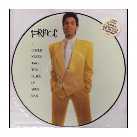Prince – I Could Never Take The Place Of Your Man - Maxi Vinyl 12 inches - Picture Disc
