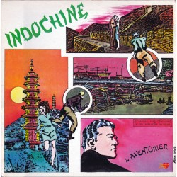 Indochine ‎– L'Aventurier - LP Vinyl Album - Synth Pop 1982 - Clemence Melody