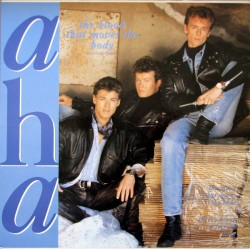 a-ha ‎– The Blood That Moves The Body - Maxi Vinyl 12 inches - Synth Pop