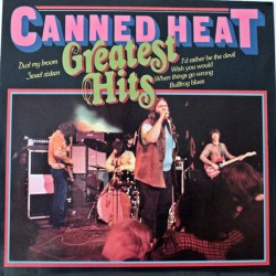 Canned Heat – Greatest Hits - LP Vinyl Album - Blues Rock