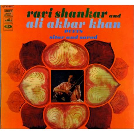 Ravi Shankar and Ali Akbar Khan - Duets Sitar And Sarod - LP Vinyl Album - India World Music
