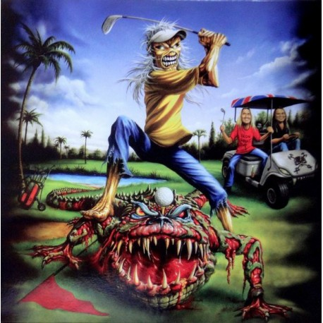 Iron Maiden – The Evil In Florida - LP Vinyl Album Picture Disc - Heavy Metal
