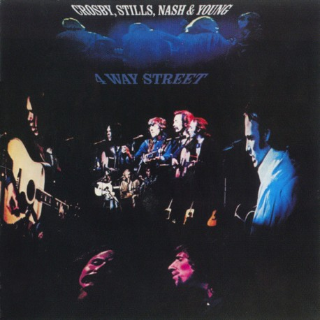 Crosby, Stills, Nash & Young – 4 Way Street - Double LP Vinyl Album - Folk Music