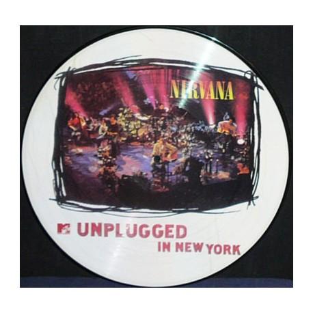 Nirvana – MTV Unplugged In New York - LP Vinyl Album - Picture Disc - Grunge Rock
