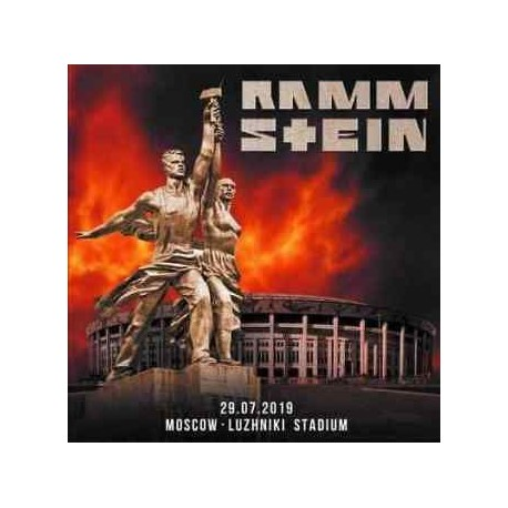 Rammstein - Moscow - Luzhniki Stadium - Double CD Digipack - Heavy Metal