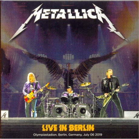 Metallica ‎- Live In Berlin - Double CD Digipack - Heavy Metal