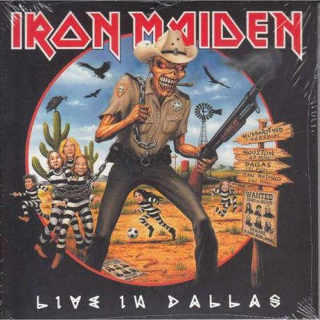 Iron Maiden – Live in Dallas - CD Album Double Digipack - Heavy Metal