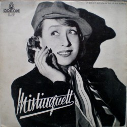 Mistinguett – Au Casino De Paris - LP Vinyl Album 10 inches 25cm - Chanson Française