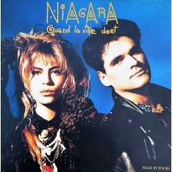 Niagara - Quand La Ville Dort - Maxi Vinyl 12 inches - French Synth Pop