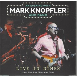 Mark Knopfler – Live in Nimes July 2019- Double CD Album Digipack - Classic Rock
