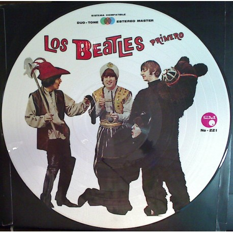 The Beatles ‎– Los Beatles Primero - LP Vinyl Album - Picture Disc - British Pop Rock