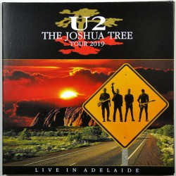 U2 - The Joshua Tree Tour 2019-  Live In Adelaide - Doucle CD Digipack - Alternative Rock