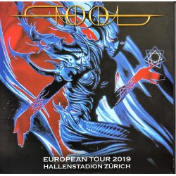 Tool - European Tour 2019 Hallenstadion Zürich - CD Album Double Digipack - Alternative Rock