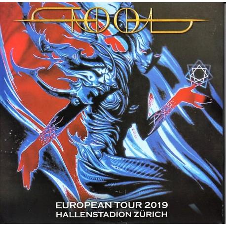 Tool - European Tour 2019 Hallenstadion Zürich - CD Album Double Digipack - Alternative Rock